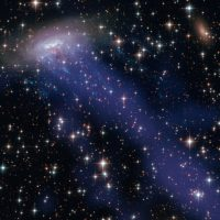 NASA замечает гигантскую «медузу» в космосе