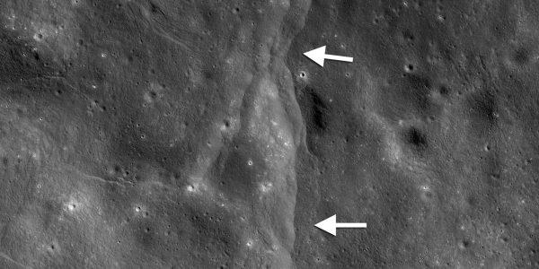 NASA: Луна дрожит, образуя странные тоннели