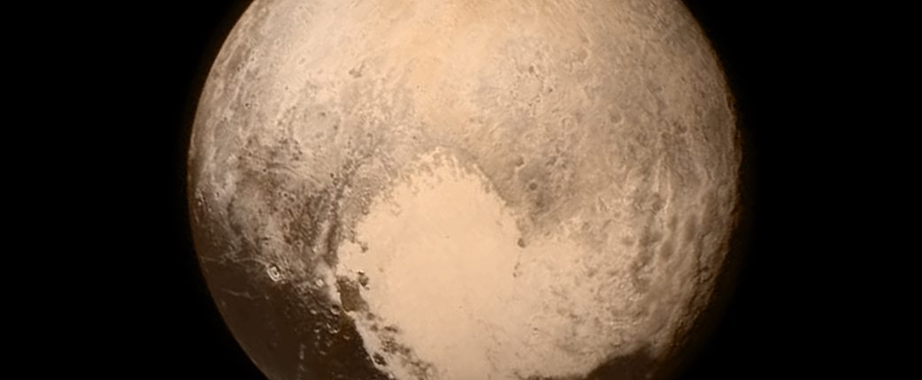 Плутон скрывает подземные воды — на поверхности карликовой планеты обнаружен аммиак