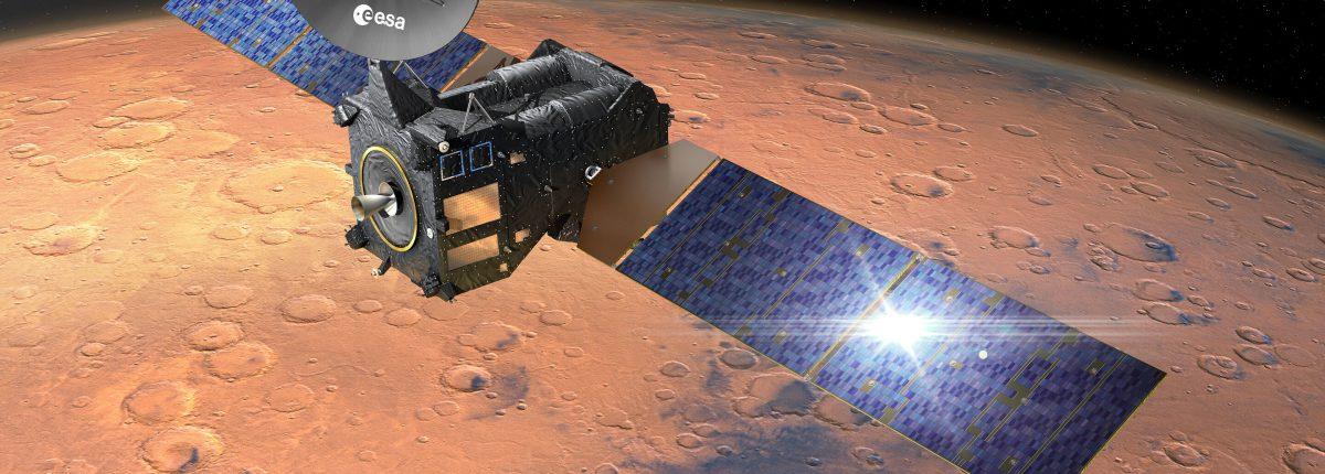 ESA готовит орбитальный модуль ExoMars к посадке нового марсохода