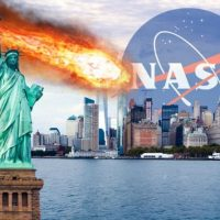 Астероид-убийца уничтожает Нью-Йорк в альтернативной реальности