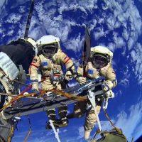 Российские космонавты закончили работу в открытом космосе