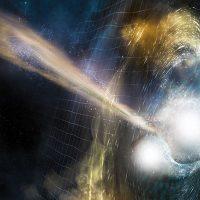Астрономы только что нашли древнее космическое событие, которое дало Земле золото и платину
