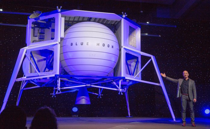 В США презентовали аппарат для освоения Луны