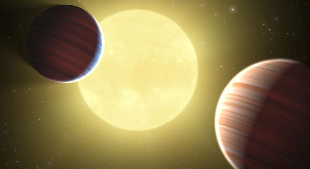 Впервые подтверждена низкая плотность наблюдаемых экзопланет