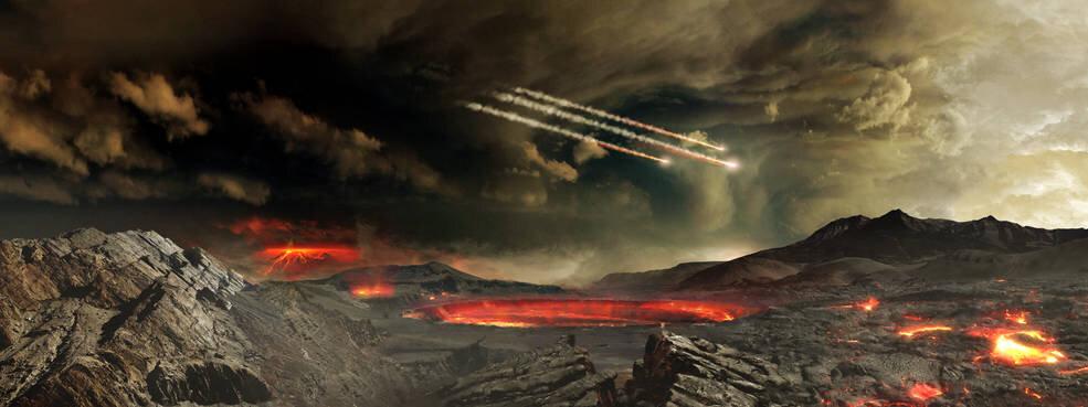 Метеориты доставили жизнь на Землю? — Цианид в их составе подтверждает эту теорию