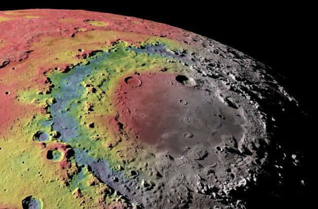 Массивная аномалия обнаружена под самым большим кратером Луны