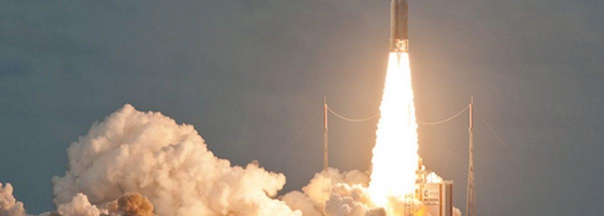 Ariane 5 запущена с космодрома Куру