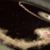 Растущие инопланетные миры замечены вокруг молодой звезды