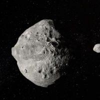 Двойной астероид пролетел рядом с Землей со скоростью 25000 км/ч