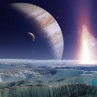Спутник Юпитера - Европа, покрыта поваренной солью