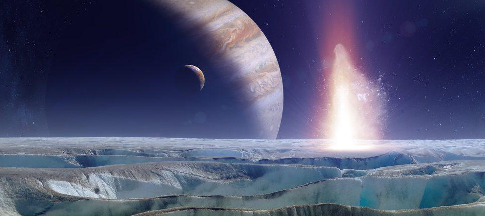 Луна Юпитера — Европа, покрыта поваренной солью