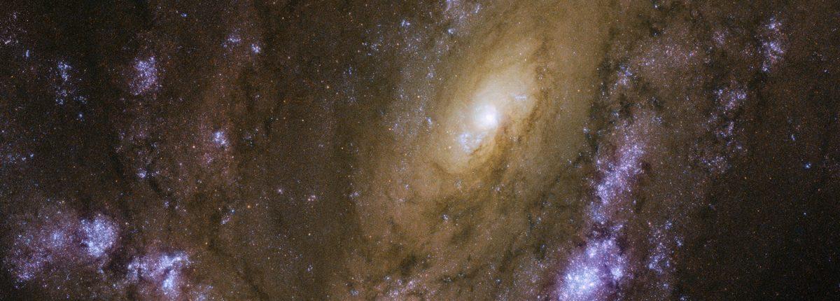 Космический телескоп «Хаббл» изучает взрывную галактику