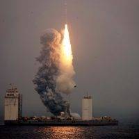 Китаю удалось запустить ракету с плавучей платформы