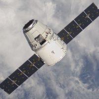 Космический грузовик Dragon приземлился в Тихом океане