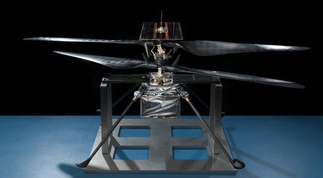 Марсианский вертолёт проходит финальные испытания