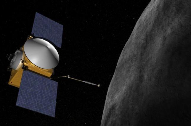 Osiris-rex вышел на низкую орбиту астероида Бенну