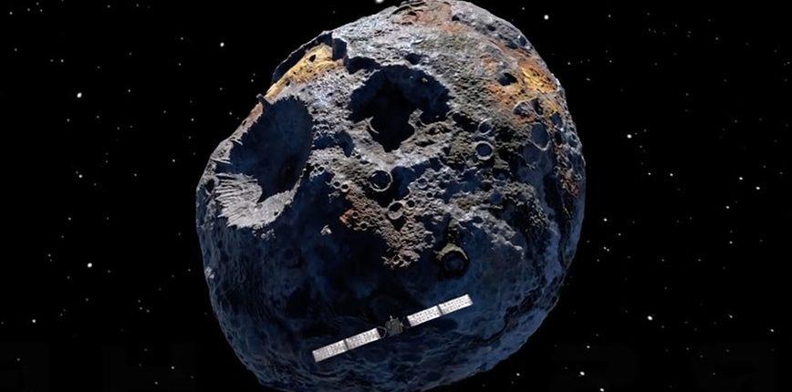 НАСА направится к гигантскому золотому астероиду, который может сделать каждого на Земле миллиардером