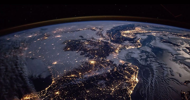 Удивительная красота Земли в этом замедленном видео из космоса