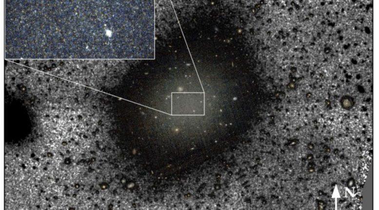Ученые раскрывают тайну галактики без темной материи
