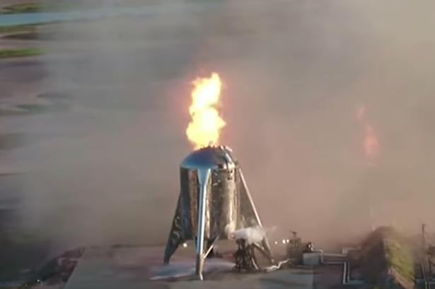 Звездолёт SpaceX снова провалил испытания