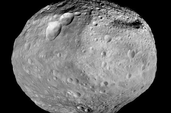Найдены доказательства катастрофического столкновения астероида Веста