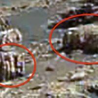 На снимках Марса снова обнаружили инопланетные артефакты