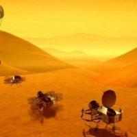 НАСА отправит беспилотный вертолет на Титан для поиска жизни
