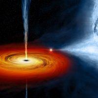 НАСА заявило об обнаружении необычной чёрной дыры