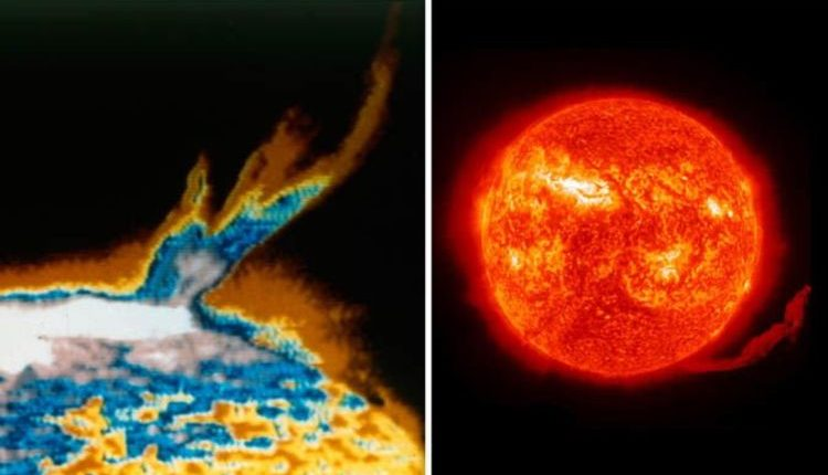 НАСА: Солнце выбросило «холодный» материал в космос — что это значит?
