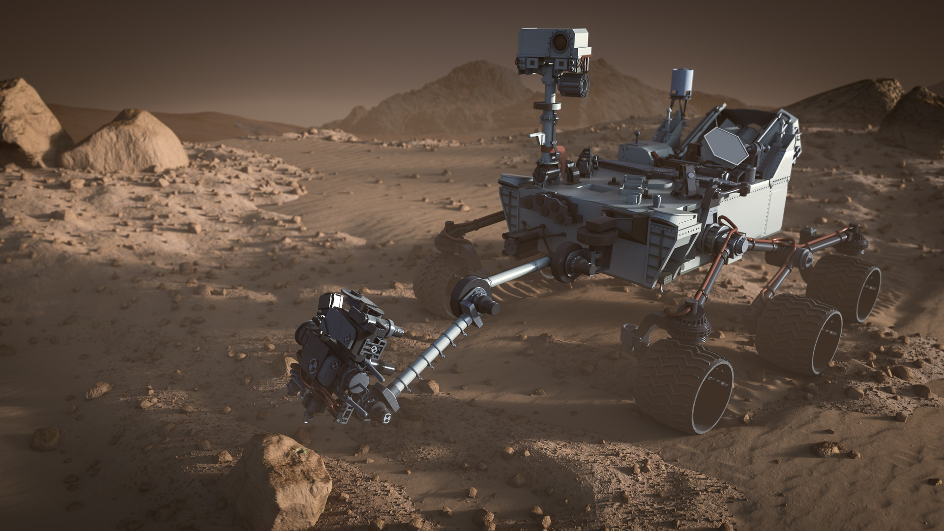 curiosity mars mission - HD1920×1080
