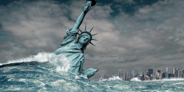 Антарктика тает: ледяной континент грозит затопить Нью-Йорк