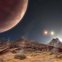Астрономы обнаружили новую экзопланету с 3-мя солнцами
