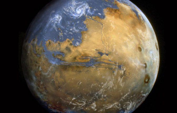 Живые растения приземлятся на Марсе в 2021 году
