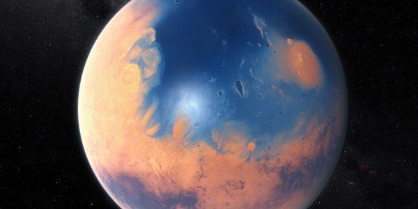 Раньше на Марсе был огромный океан, но мега-цунами уничтожило все