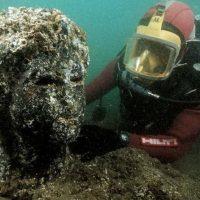 Дайверы обнаружили древний храм в «Египетской Атлантиде»
