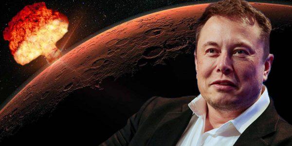 Илон Маск призвал «бомбардировать Марс» с помощью ядерного оружия