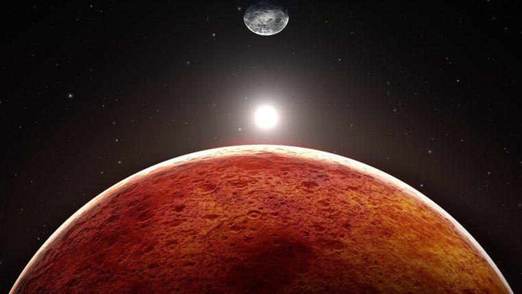 Как марсоход сфотографировал крайне редкое явление на Красной планете