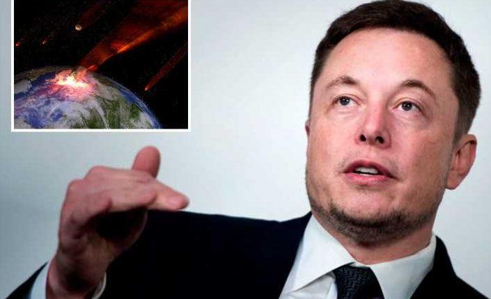 Илон Маск: космический камень в конце концов поразит Землю, и в настоящее время у нас нет защиты