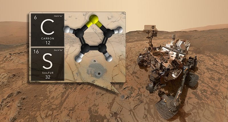 Жизнь на Марсе: Выбросы метана на Марсе могут создавать микробы