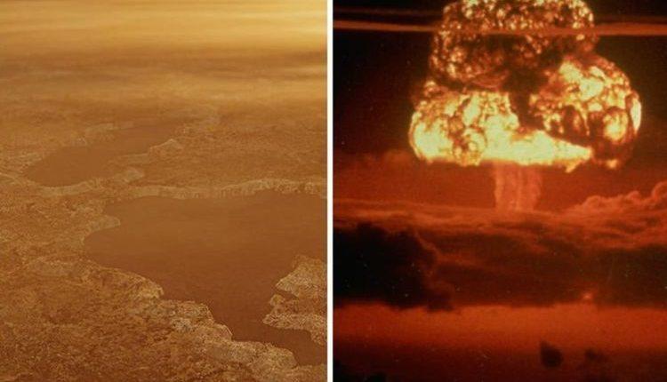Ученые: кратеры на Титане сформировали азотные бомбы