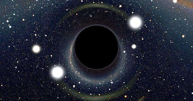 Шокирующее заявление ученого-физика: наша Вселенная находится внутри черной дыры