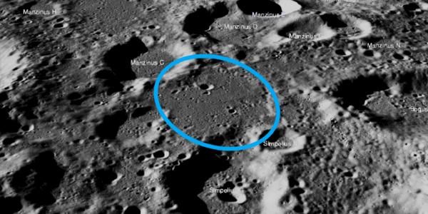 Лунный орбитальный аппарат НАСА не может найти место посадки на Луне индийского зонда