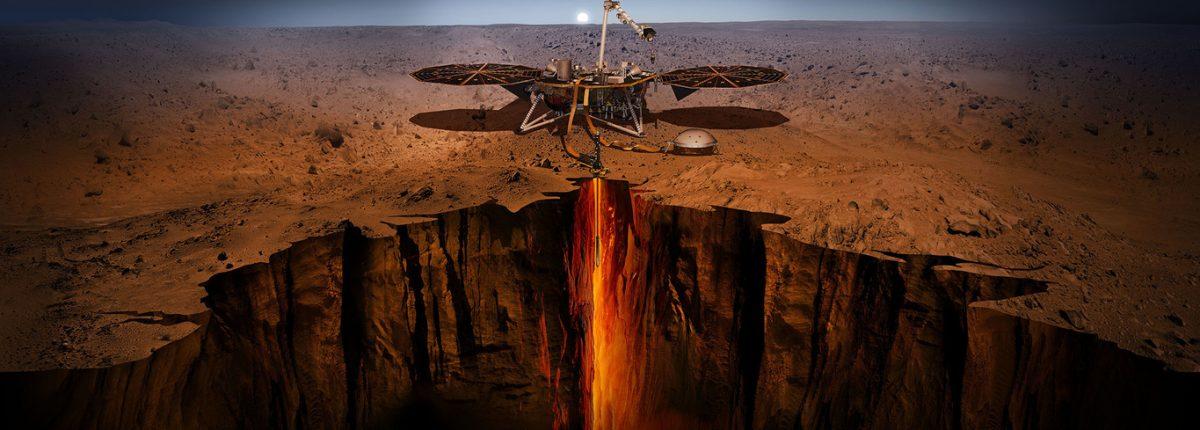 НАСА обнаруживает странные магнитные импульсы на Марсе