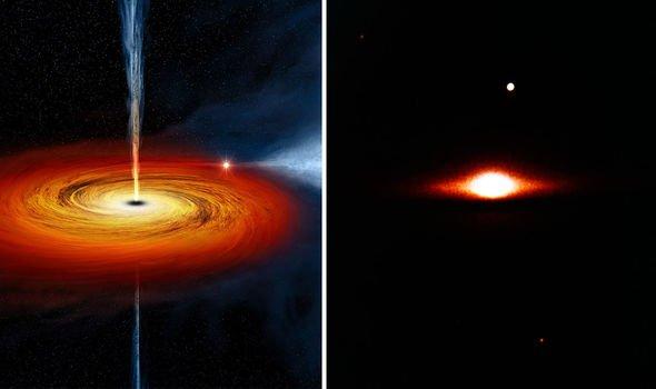 Астрономы в шоке: «неопознанный объект» питает черную дыру