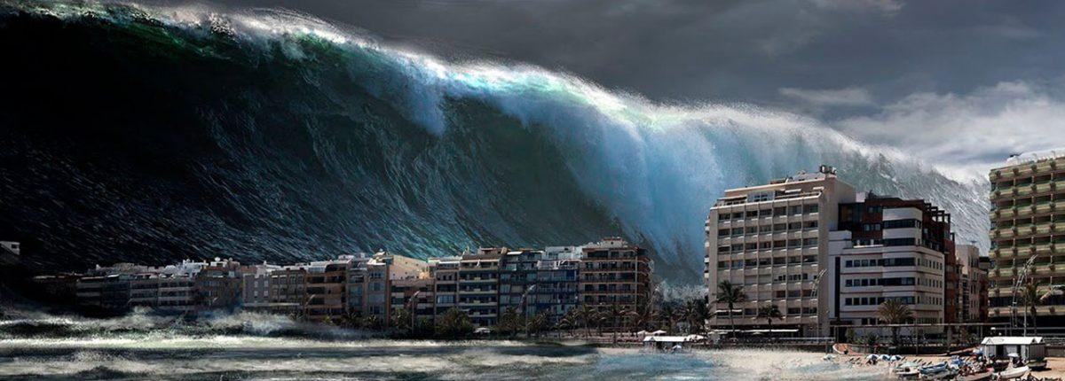 Ученый: цунами от падения астероида в океан угрожает миллионам людей на побережье
