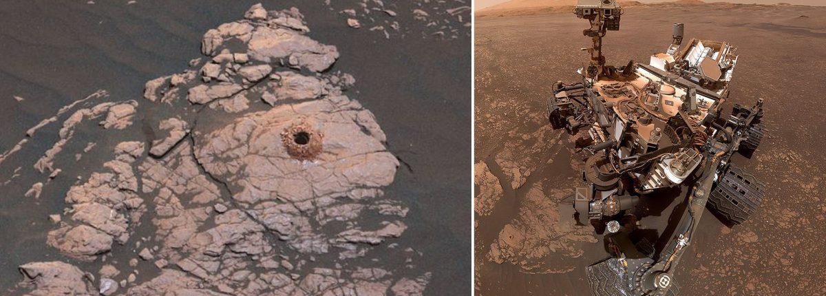 Жизнь на Марсе: найдено место, где могли существовать микробы