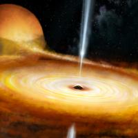 Астрономы наблюдают мерцание черной дыры в нашей собственной галактике