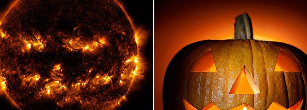 Тыквенное Солнце: НАСА делится удивительным снимком нашей звезды