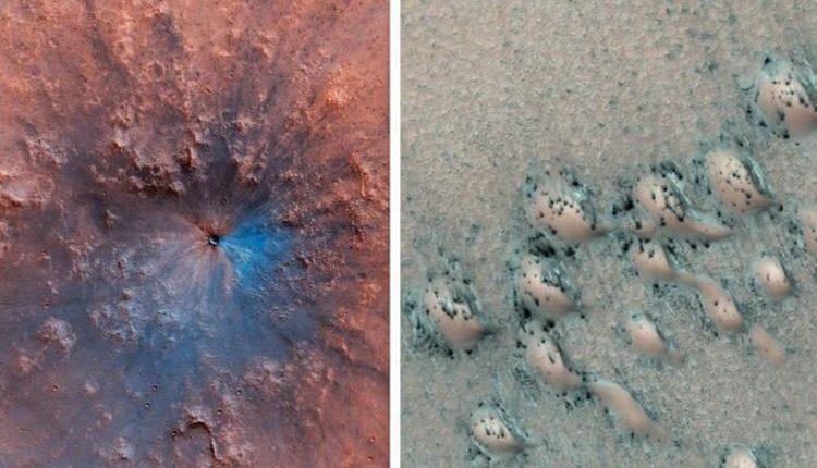 На Марсе обнаружены подозрительные структуры